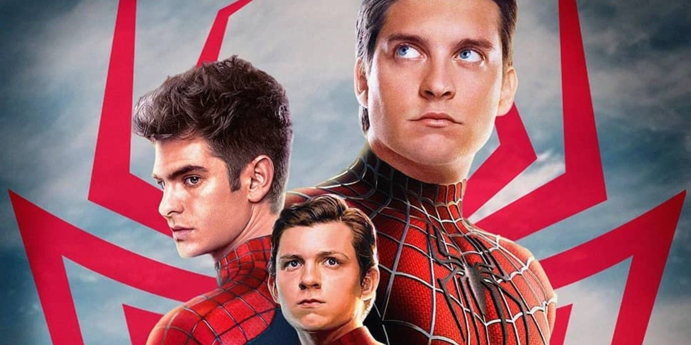 Spider-Man Stars Holland, Garfield & Maguire Unite In Live-Action Poster