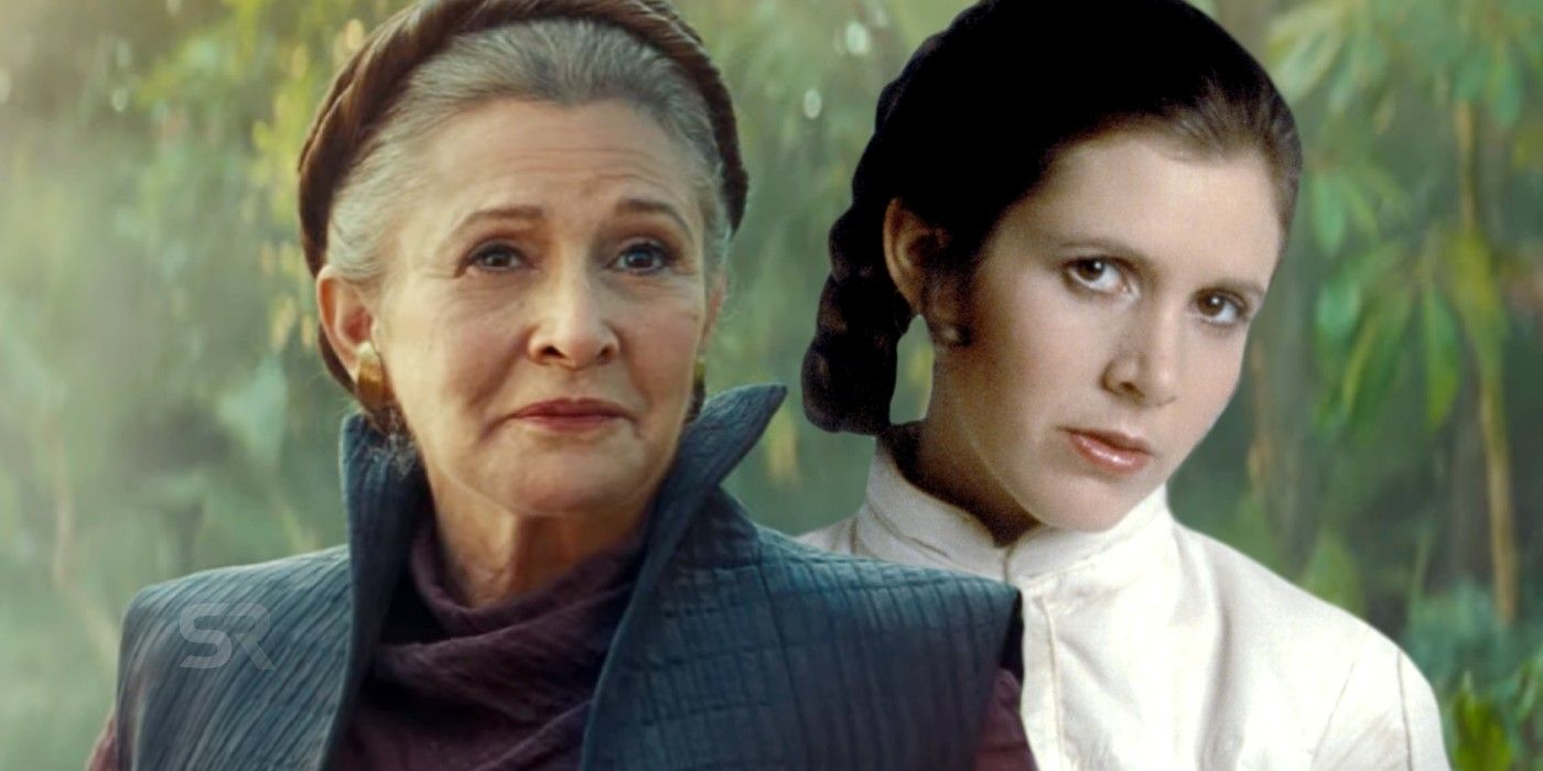 Rise of Skywalker: How Old Is Leia When She Died   Screen Rant How Old Was Princess Leia In A New Hope