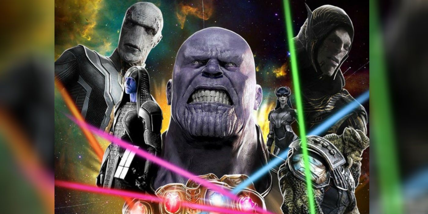 Marvel Fan Art Makes A Strong Case For A Thanos Prequel Movie
