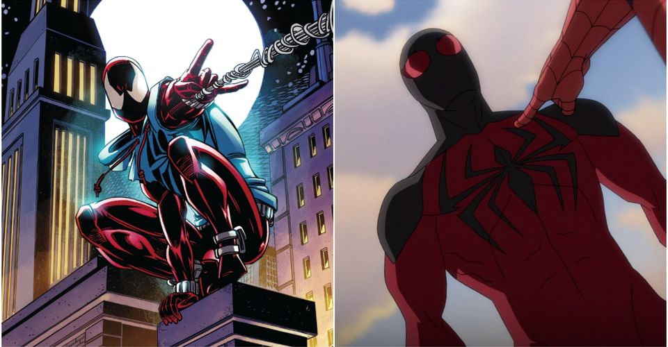 Ultimate Spider Man 5 Ways Scarlet Spider Is Accurate To The Comics 5 Ways He Isn T