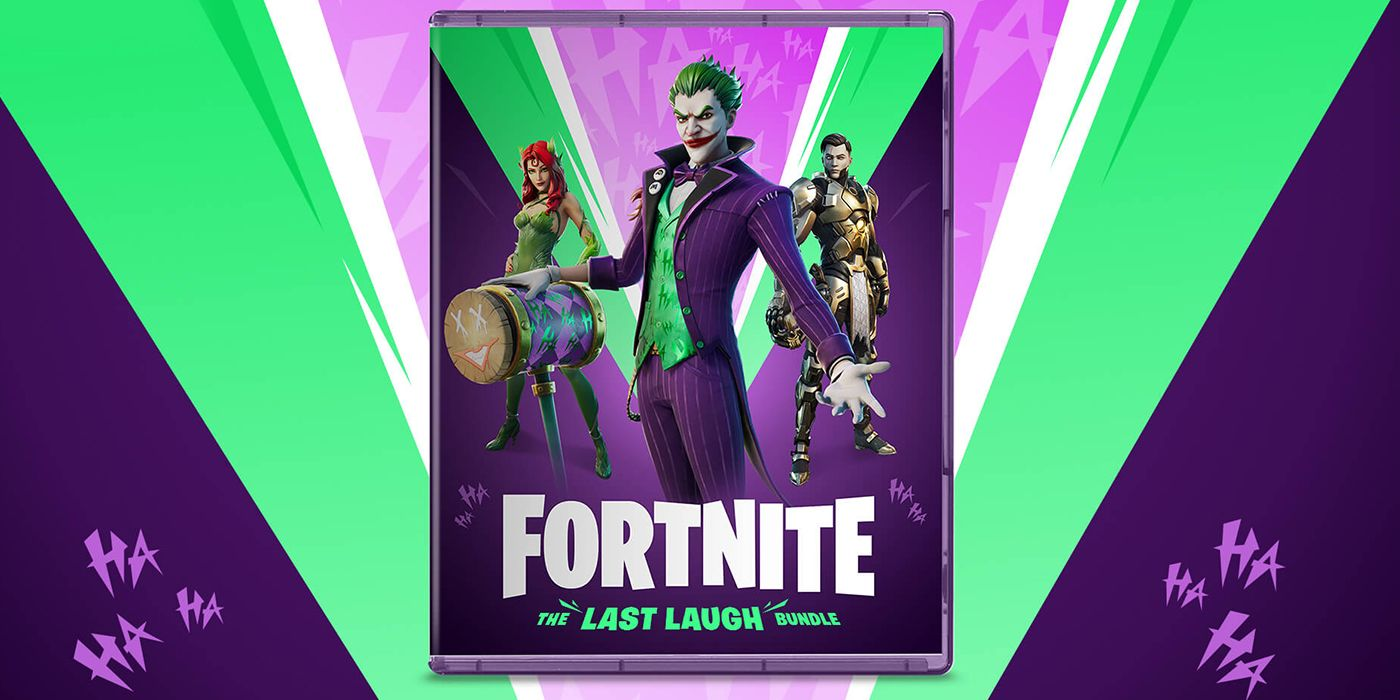 Fortnite Joker & Poison Ivy Last Laugh Bundle Officially Announced