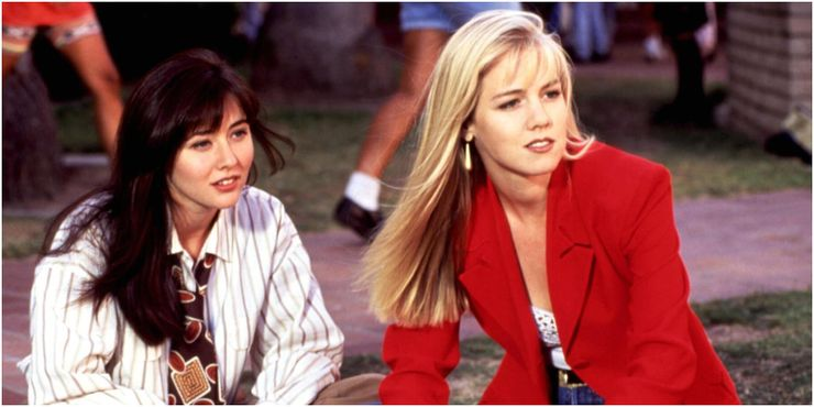 Why did brenda leave 90210