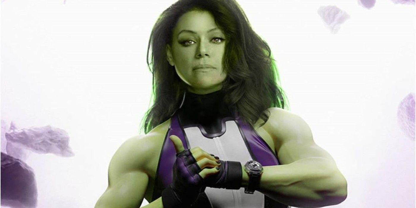 Tatiana Maslany imagined as She-Hulk