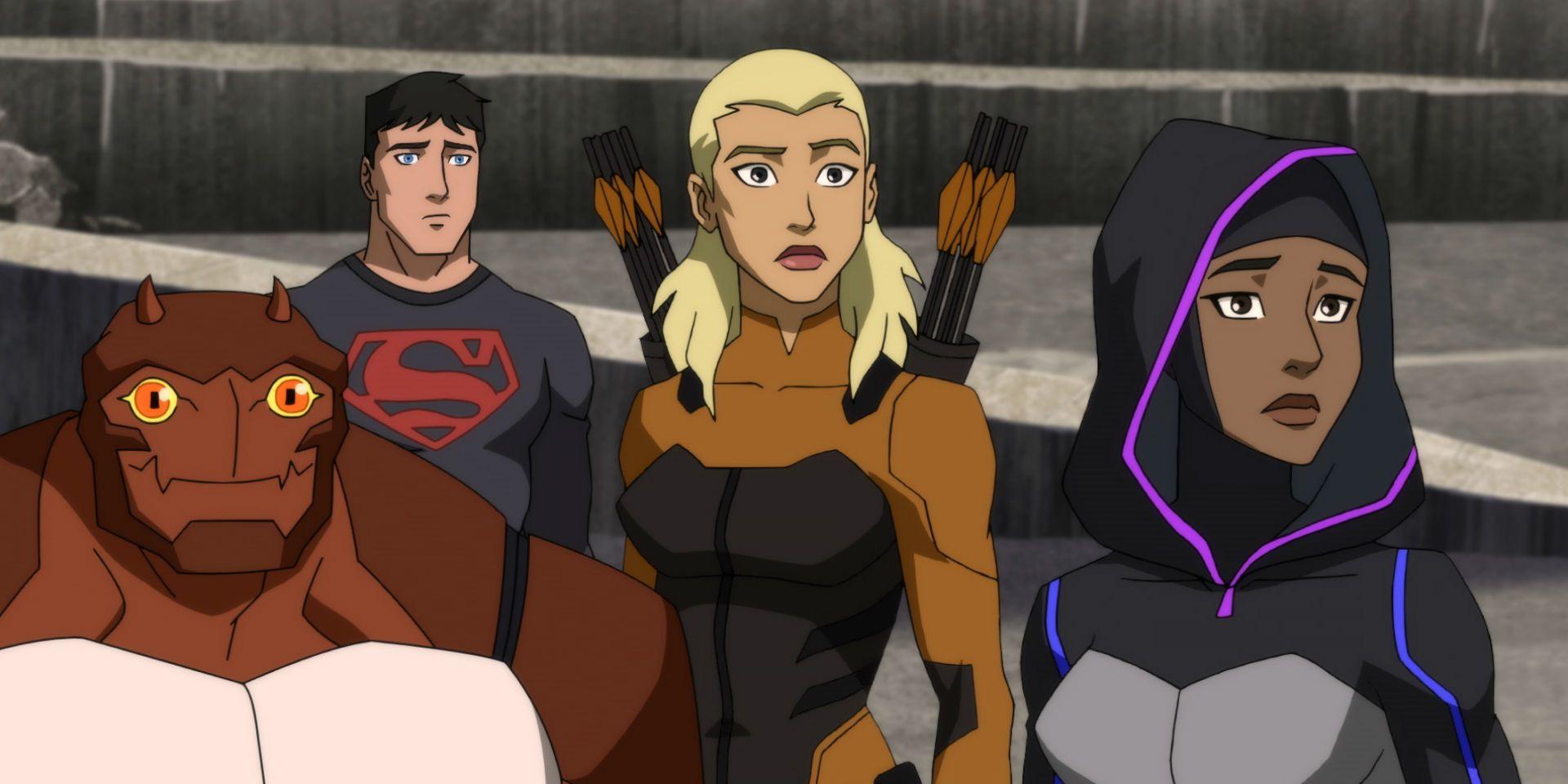 O Young Justice está na Netflix no Hulu ou no Prime? Onde Assistir Online 1