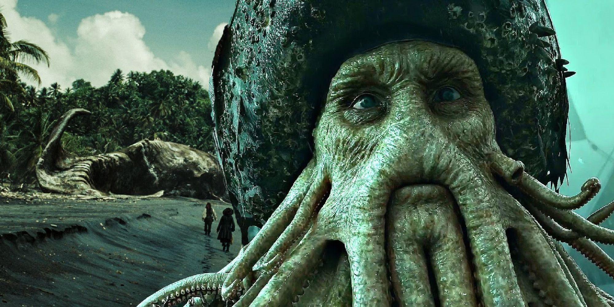 Pirates Of The Caribbean Why Davy Jones Killed The Kraken How