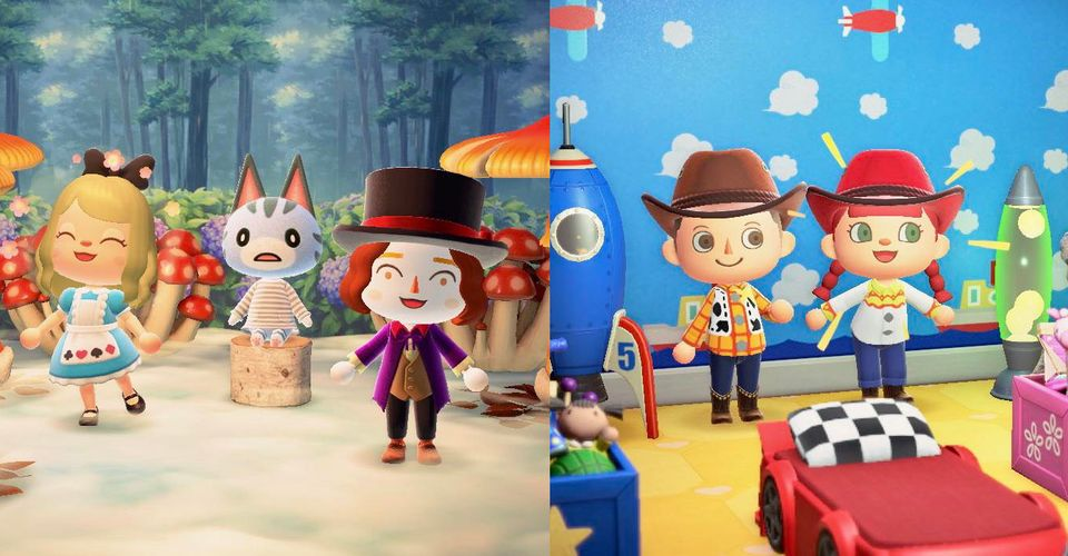 Animal Crossing Halloween Costumes Toy Story Alice