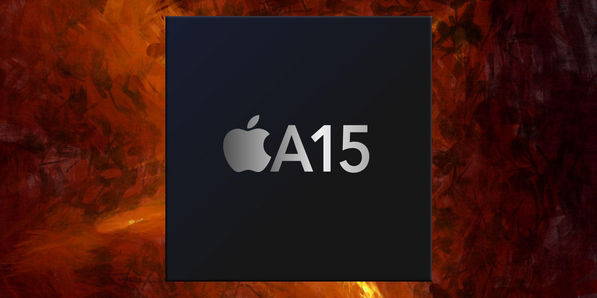 Bionic A15 flagship processor