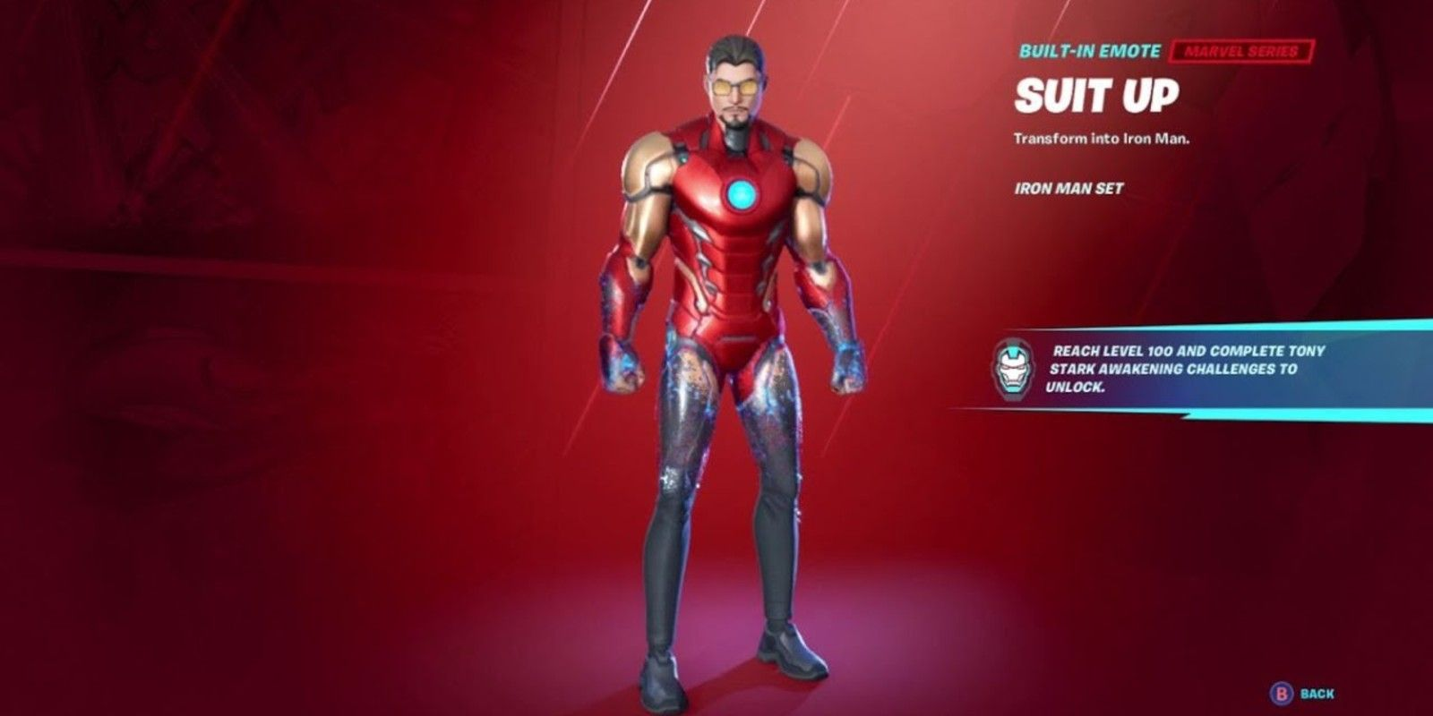 How To Unlock The Iron Man Suit Up Emote In Fortnite Where can you find iron man in fortnite? the iron man suit up emote in fortnite