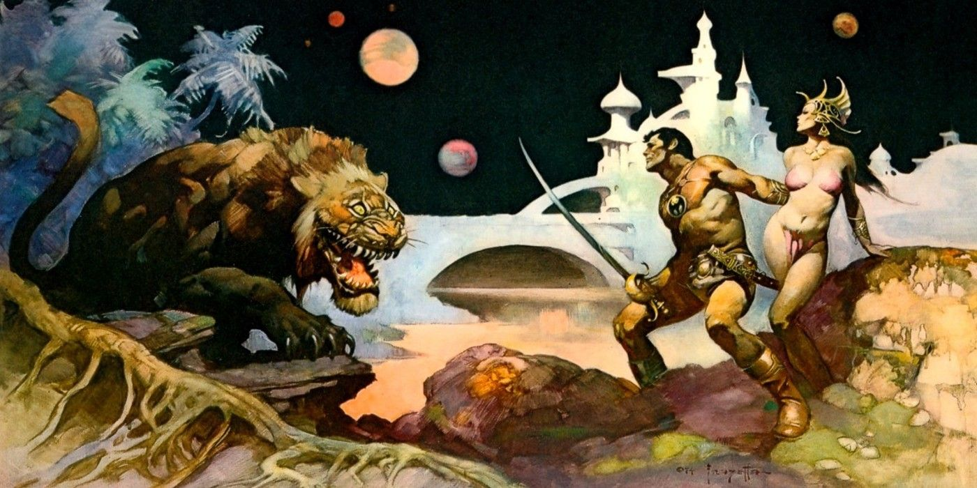 The Immortal Legacy of Iconic Artist Frank Frazetta | Screen Rant
