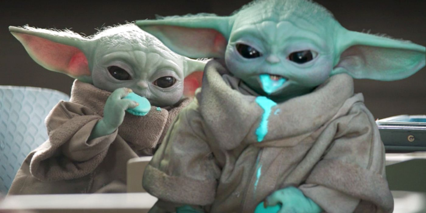 The Mandalorian: In Defense Of Baby Yoda Stealing The Kid's Cookies