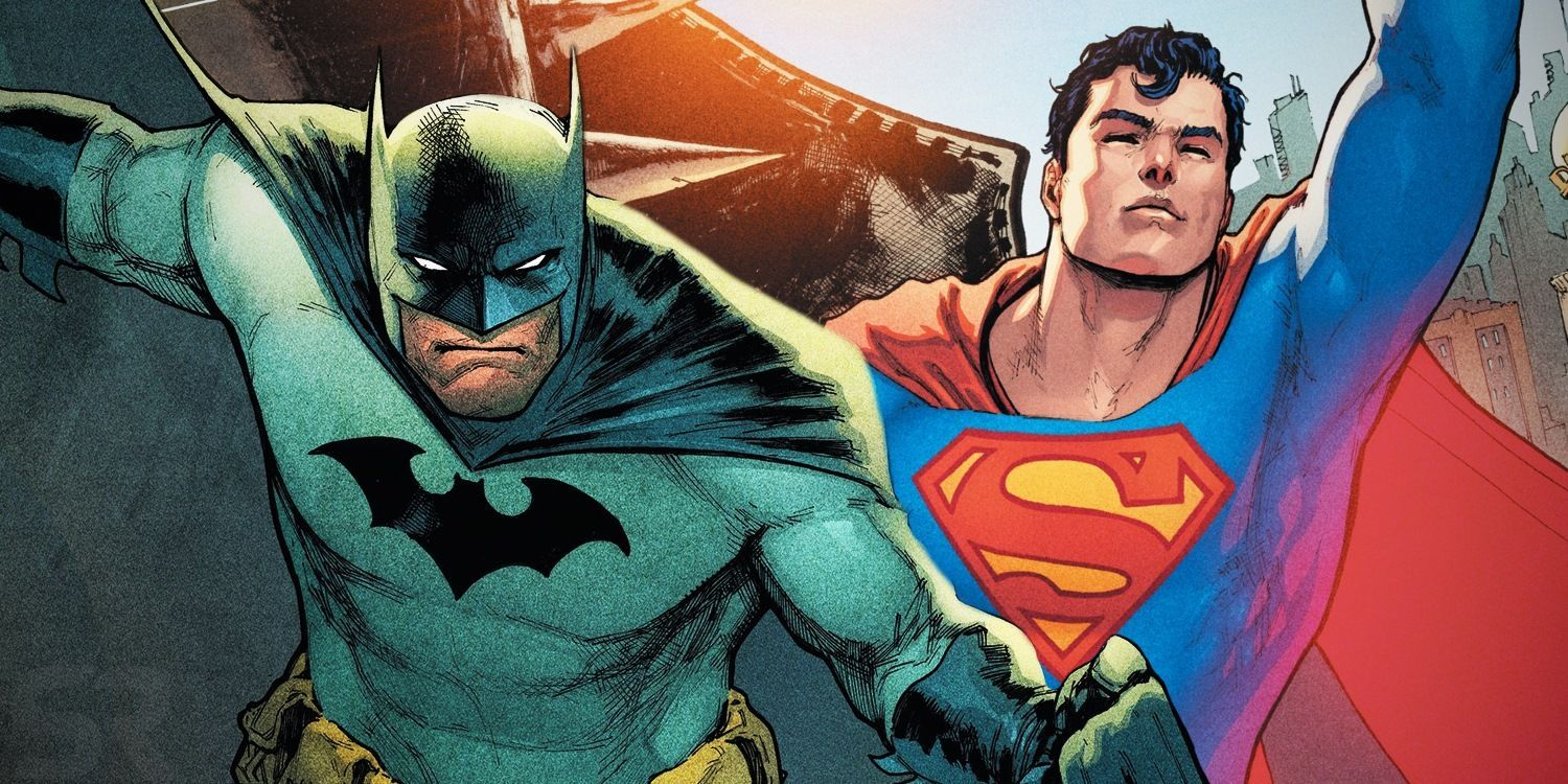 Batman and Superman are friends from the beginning