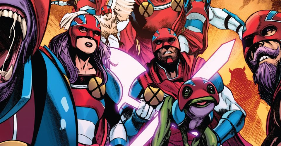 The Captain Britain Corps Has Been Reborn in Marvel's Universe