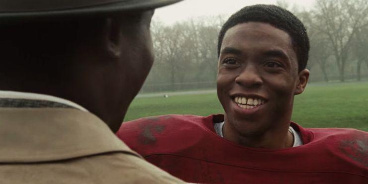 Chadwick Boseman in The Express