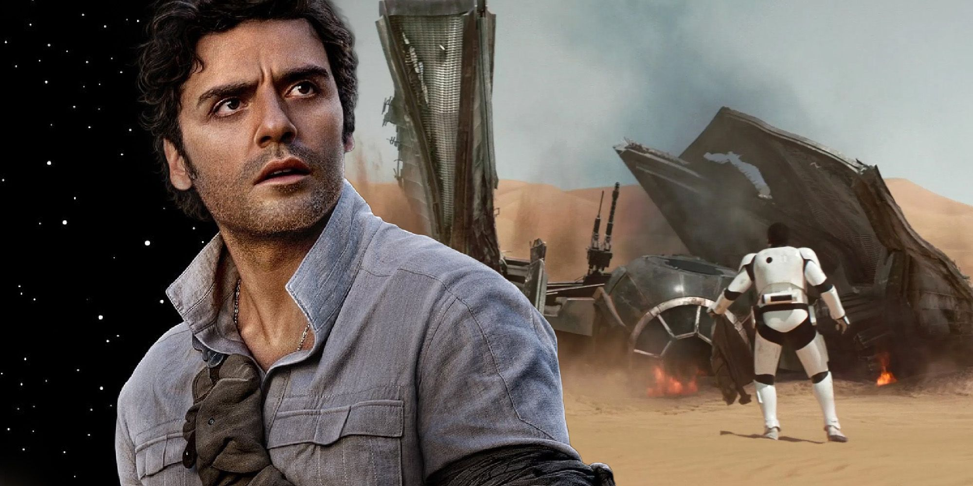 The Force Awakens: How Poe Dameron Survived The Crash On Jakku