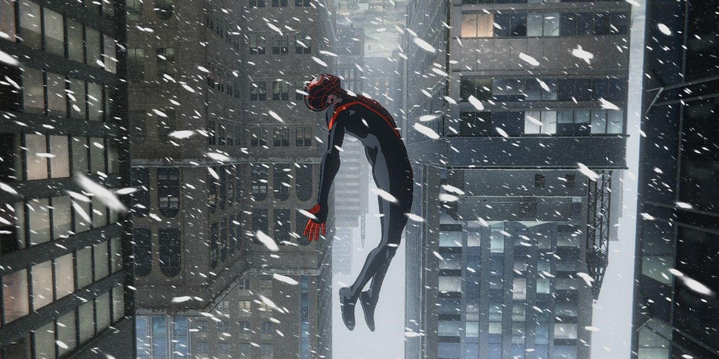 Why It's Snowing In Spider-Man: Miles Morales | Screen Rant