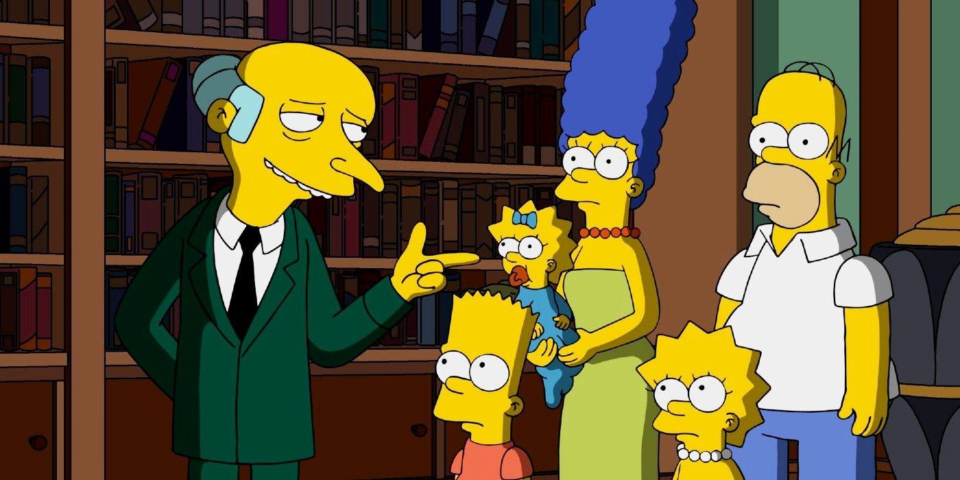 Os Simpsons: 10 detalhes que você perdeu sobre o Sr. Burns 2