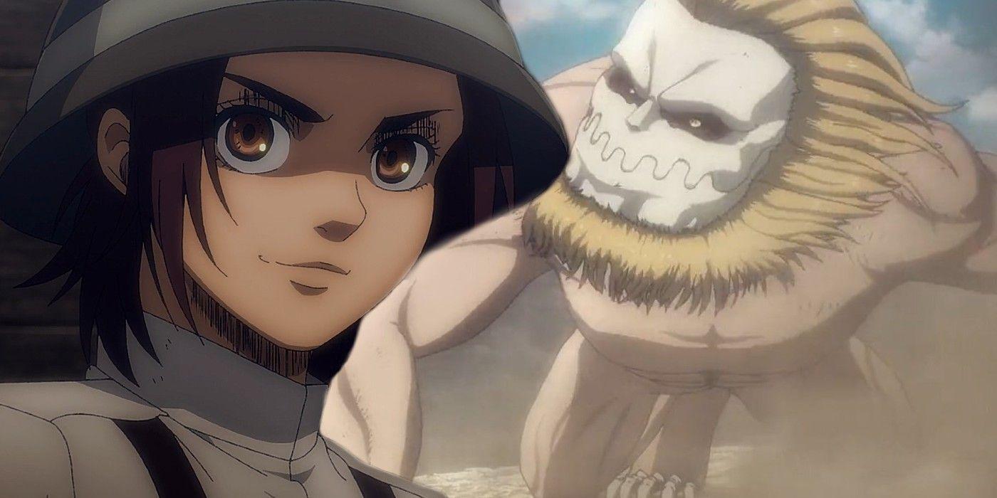 Attack On Titan Season 4 Premiere New Titan Characters War Explained