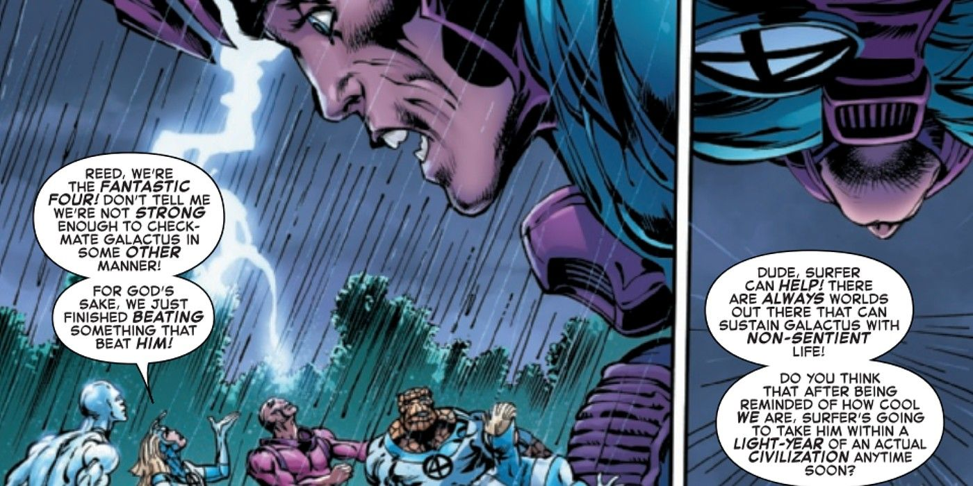 A Marvel acaba de revelar a estranha verdade sobre Galactus 1