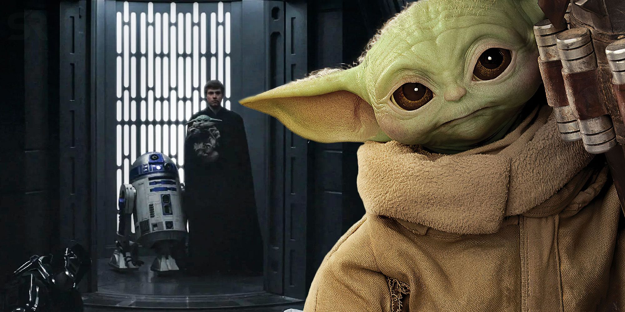 Luke takes baby Yoda is not a hole (it's a correction)