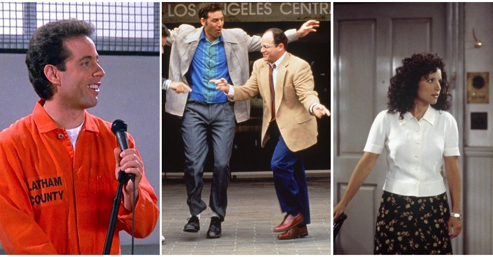 TV moments, Seinfeld begins with a discussion on shirt buttons and ends with the same discussion.