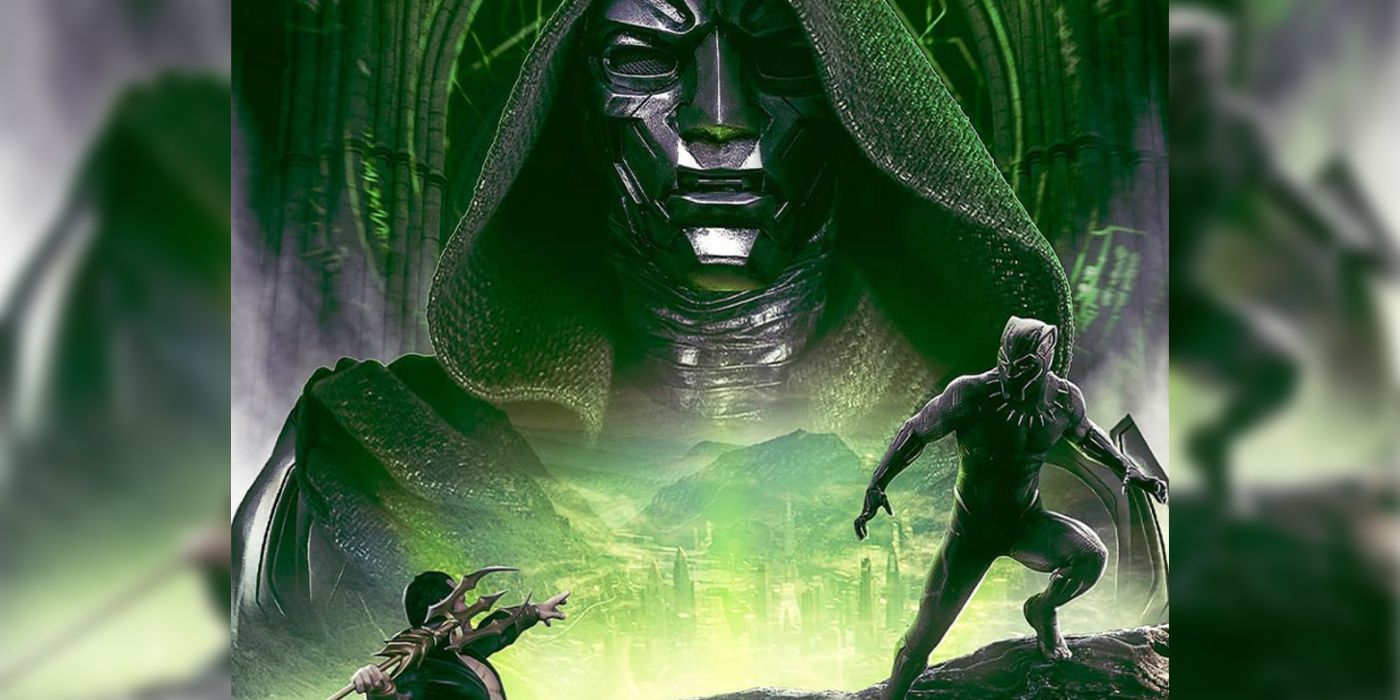 Black Panther 2 Art Imagines a Face-Off With Doctor Doom & Namor