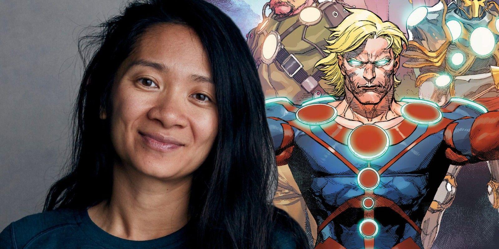 Chloe Zhao directs 'Eternals'