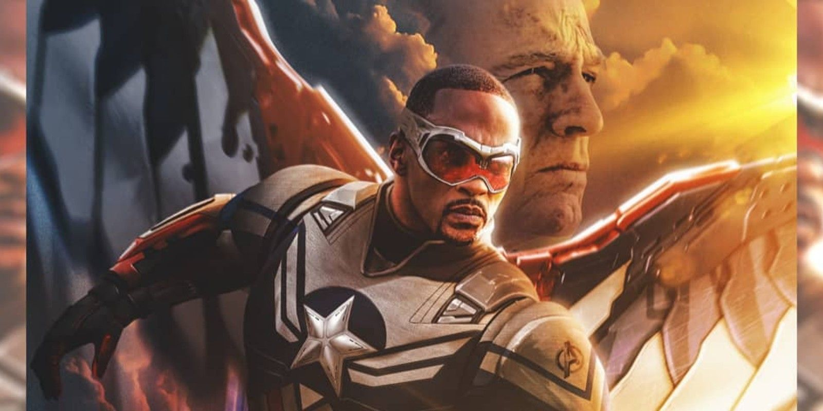 Falcon & Winter Soldier Fan Poster Imagines Old Steve Rogers Joining The Cast