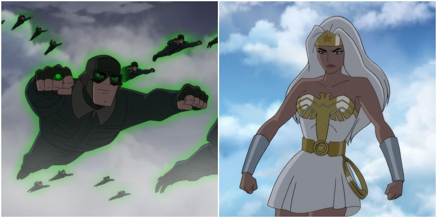 DC: Top 5 Animated Original Movies Featuring Wonder Woman (& Top 5 With Green Lantern)