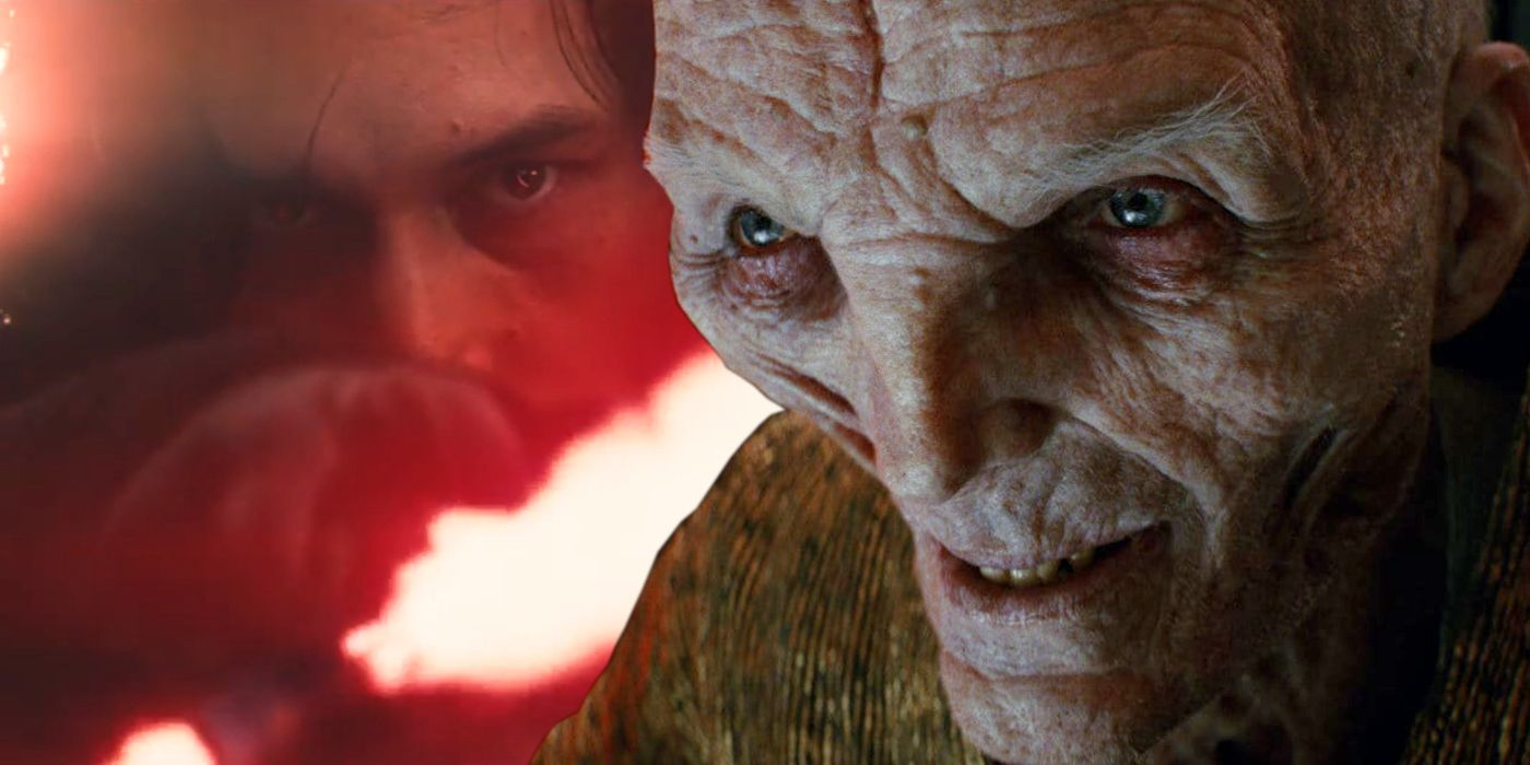 Snoke vs. Kylo Ren: Which Star Wars Sequels Villain Is More Powerful