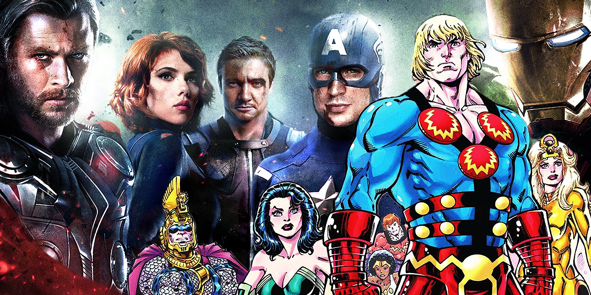 The Mcu Should Reverse The Avengers Model For The Eternals