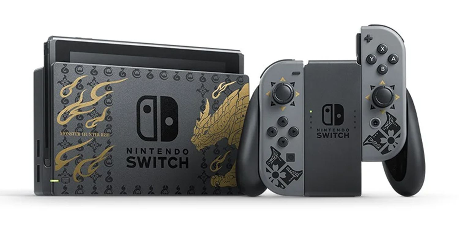 Special Monster Hunter Rise Switch Console Unveiled By Nintendo