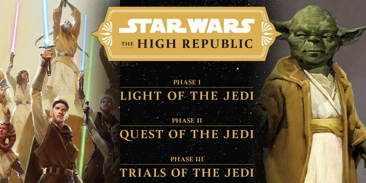 Star Wars' High Republic Explained & Release Guide (Books, Comics & Show)