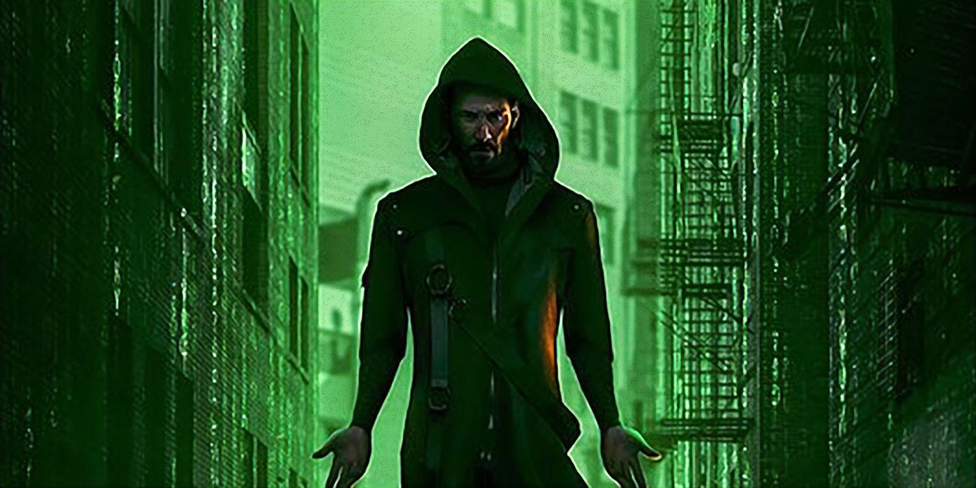 Matrix 4 Fan Poster Imagines Keanu Reeves Return As Neo