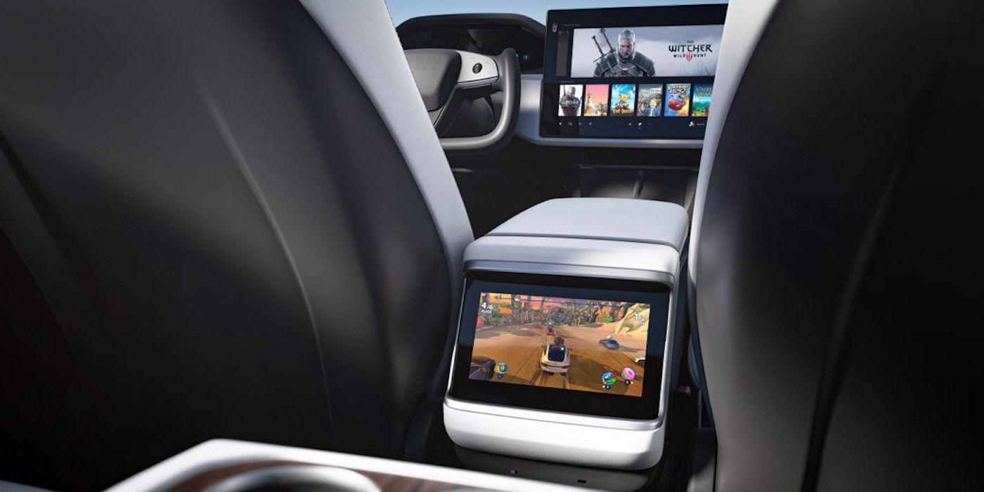 Cyberpunk 2077 Playable In Tesla Model S, Boasts Elon Musk