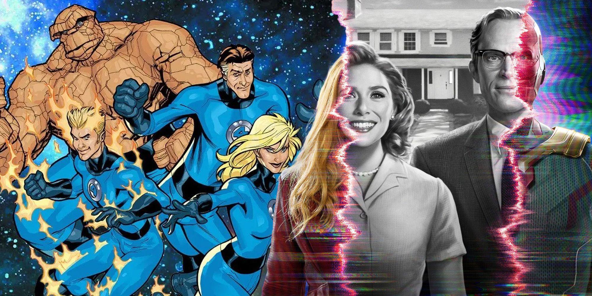 WandaVision May Have Secretly Set Up The MCU's Fantastic Four