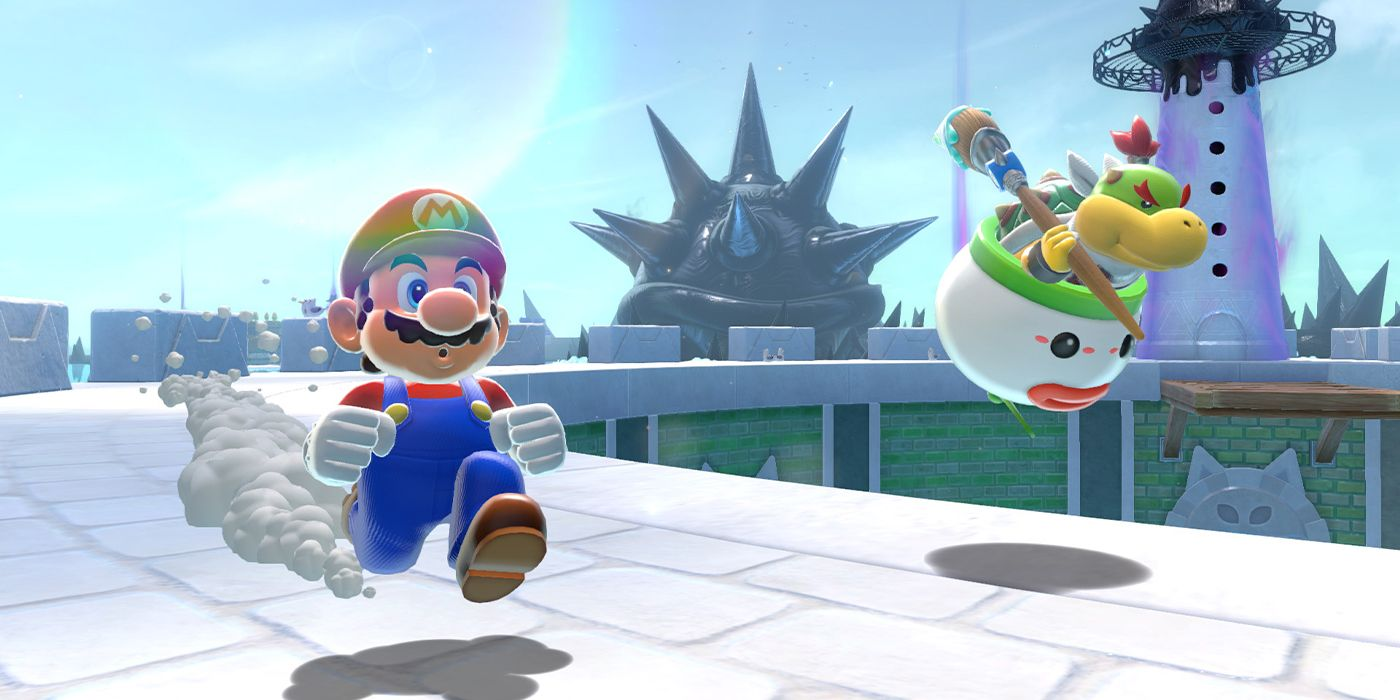 Bowser's Fury Has Largest Open Space In A 3D Mario Game, But It's Very Short