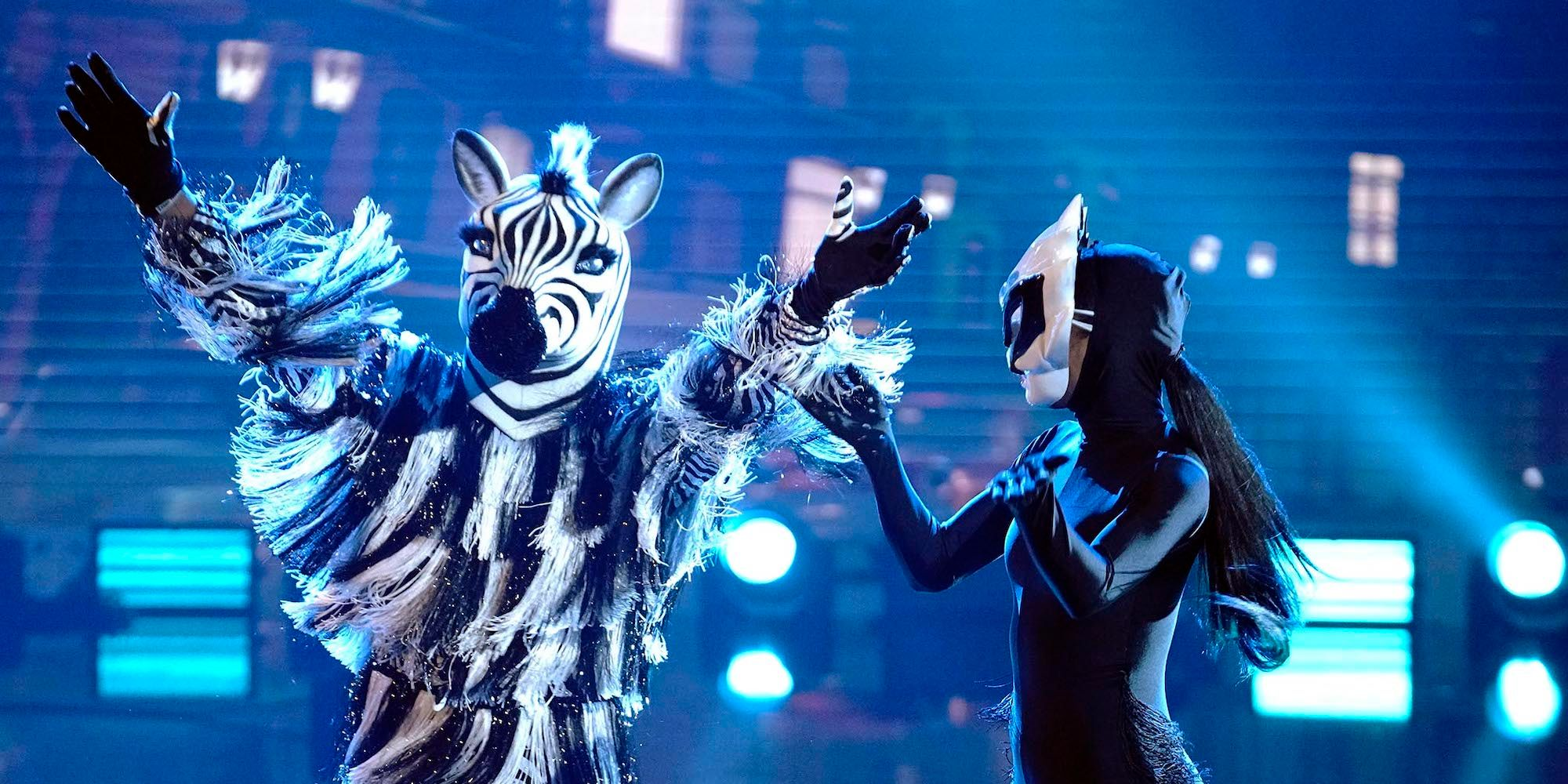 The Masked Dancer: Who Is Zebra? (Hint: Not Mario Lopez)
