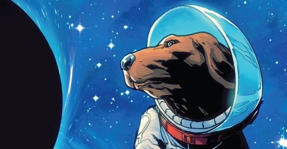 Cosmo the Spacedog in Guardians of the Galaxy emerged as one of the most powerful psychic entities as the head of Knowhere.