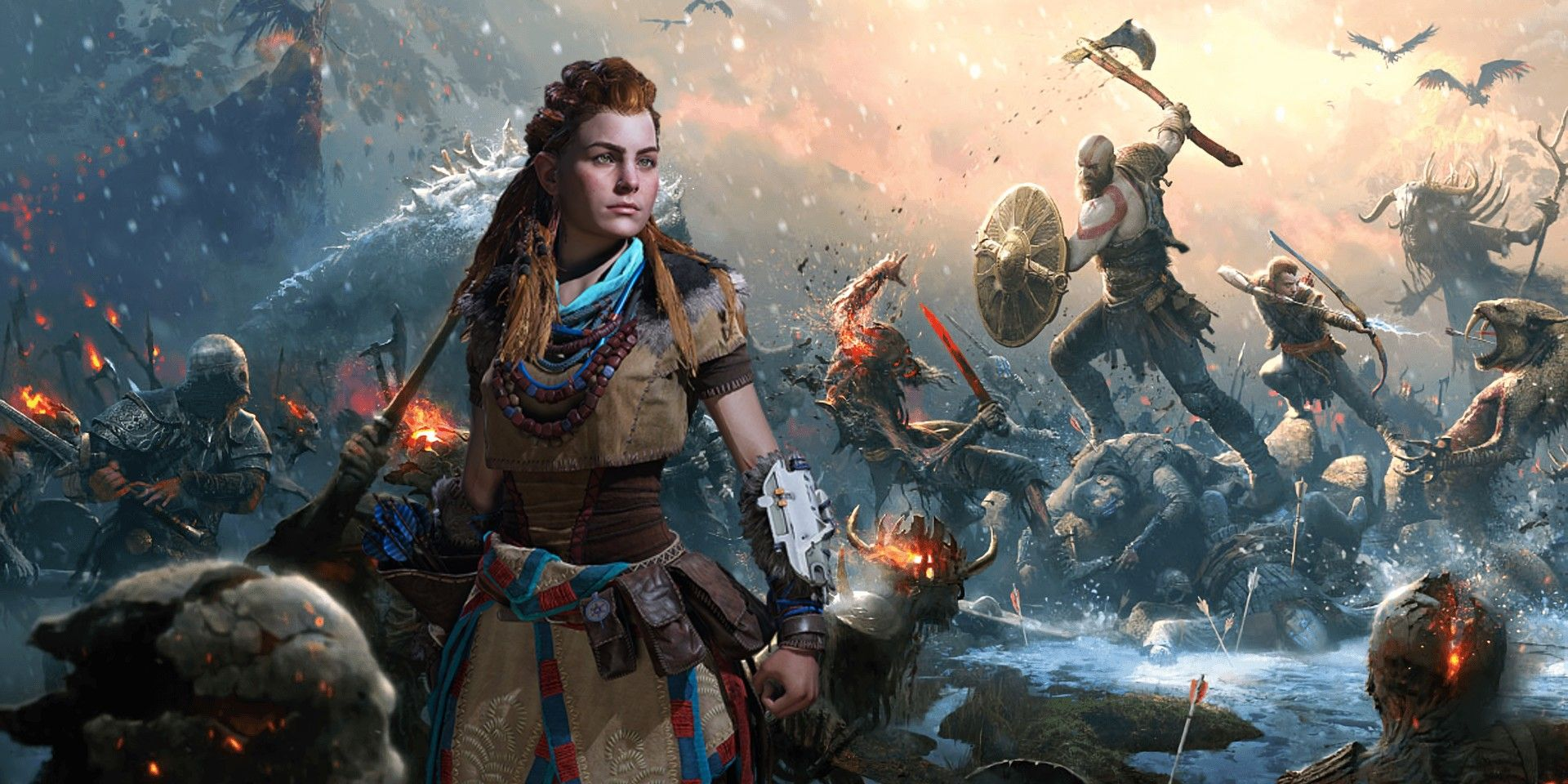 Horizon Forbidden West & God Of War Absent From PS5 State of Play