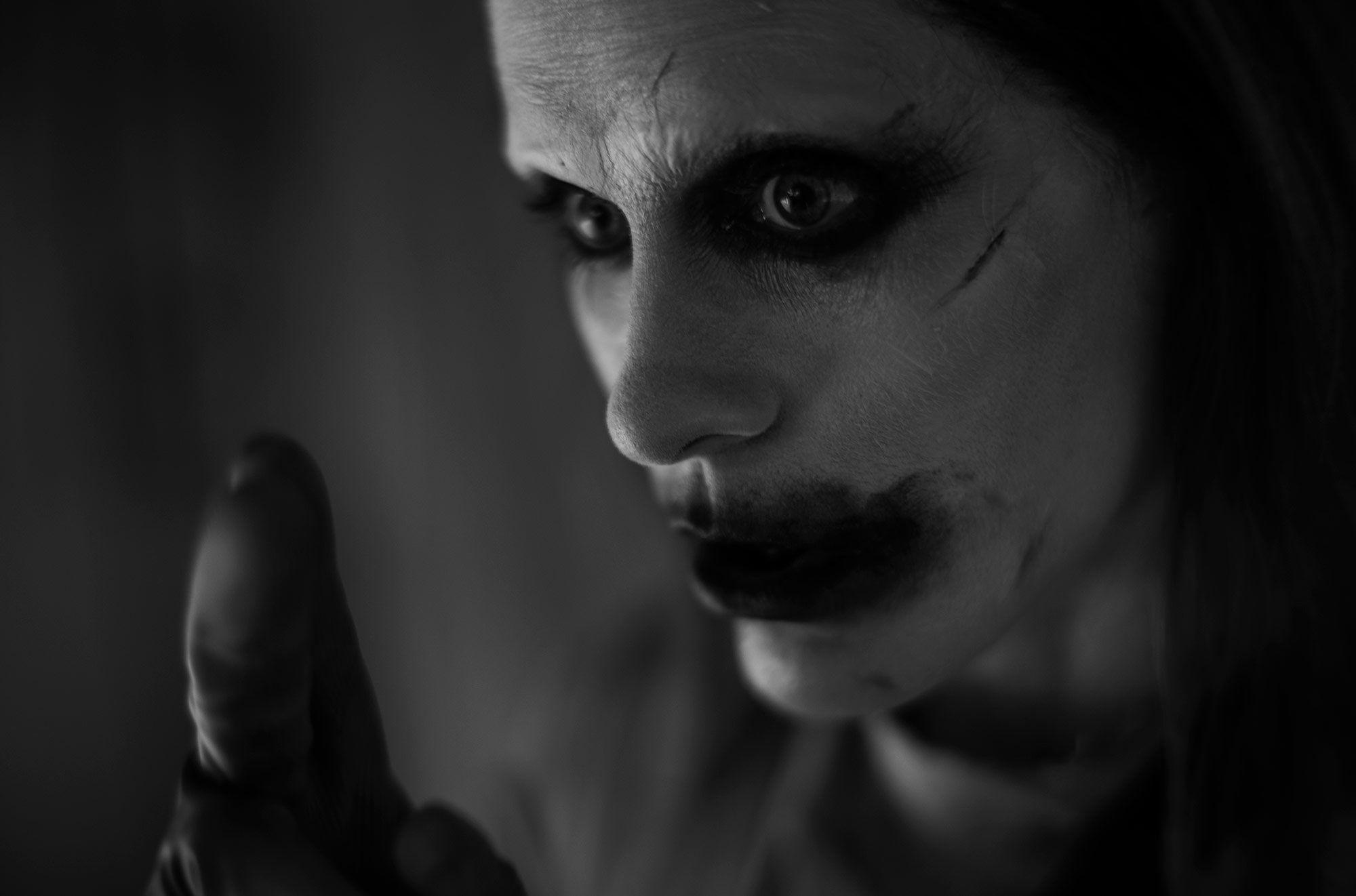 Joker de Jared Leto Snyder Cut redesign revelado em imagens da Liga da Justiça 2