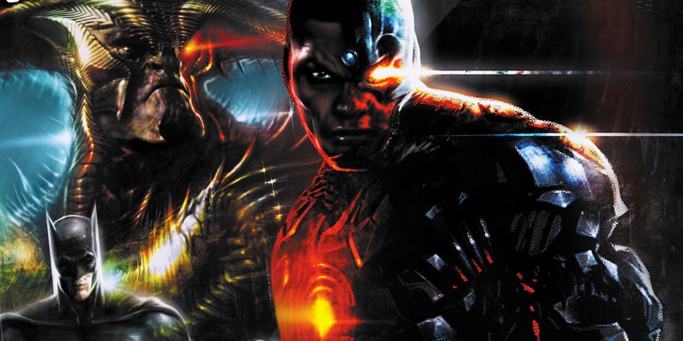Zack Snyder's Justice League Comes To DC Comics in New Covers