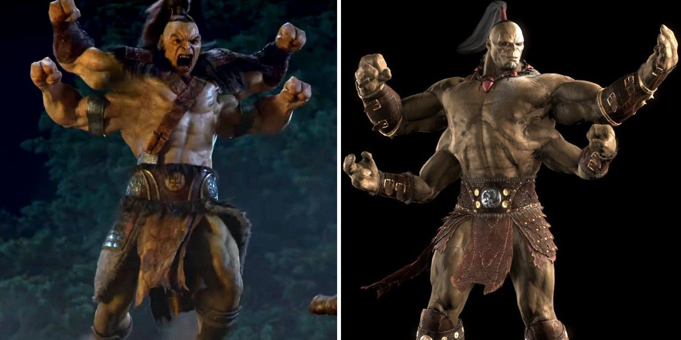 Mortal Kombat 2021's Goro Will Be Full CGI | Screen Rant
