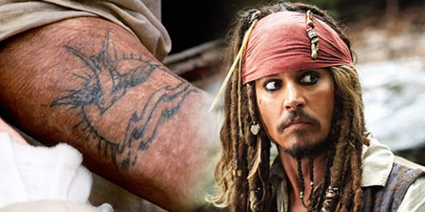 Disney Pirates of the Caribbean At Worlds End Tattoos