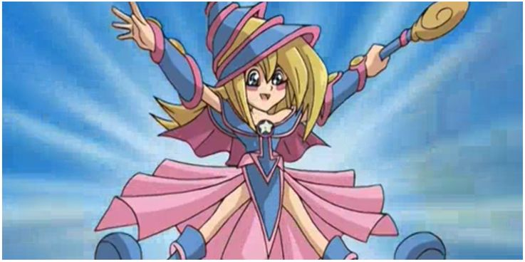 Yugioh Toon Dark Magician Girl Yu-Gi-Oh!