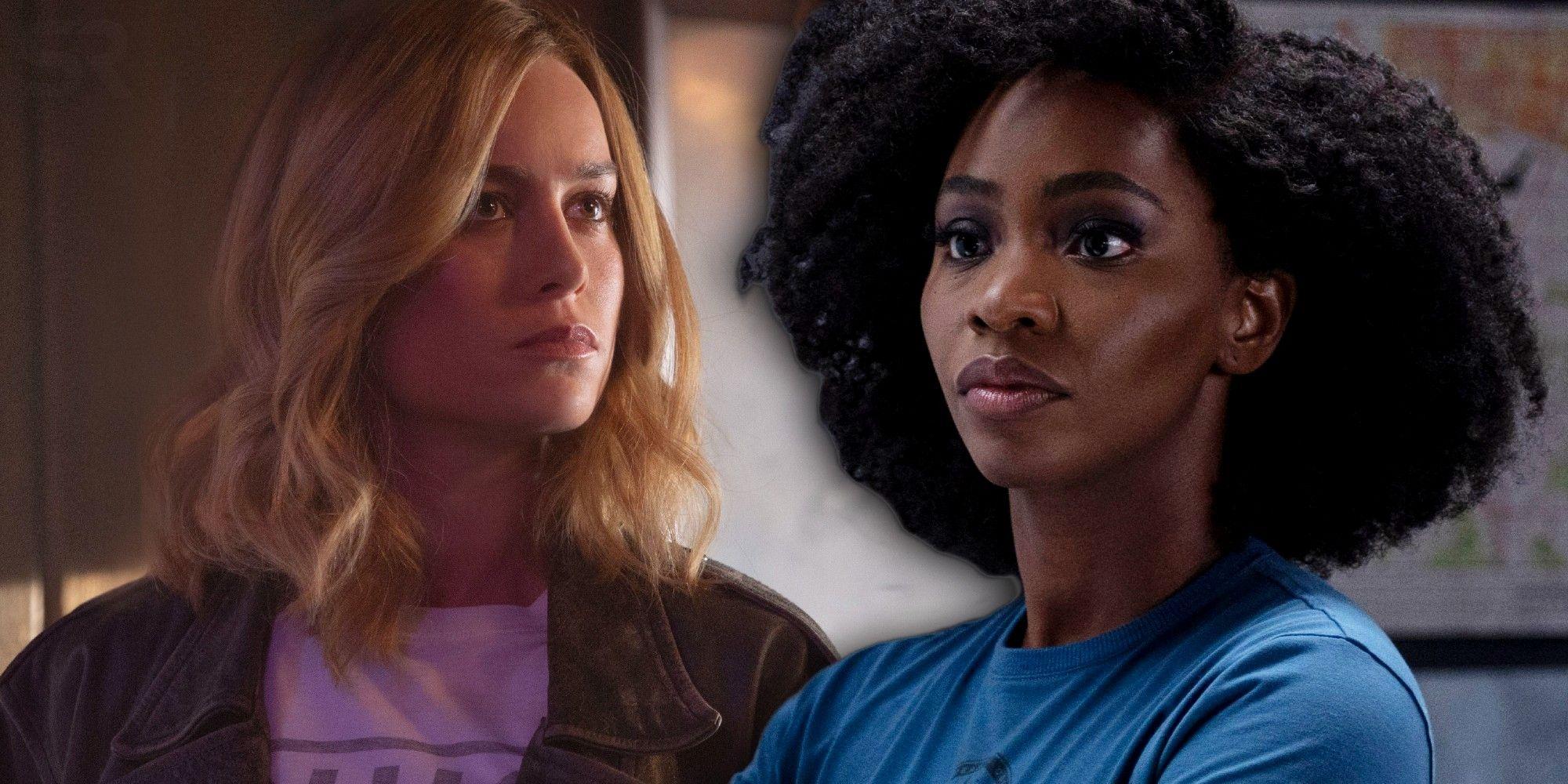 WandaVision: Monica's Captain Marvel Reaction Confirms A Sequel Problem