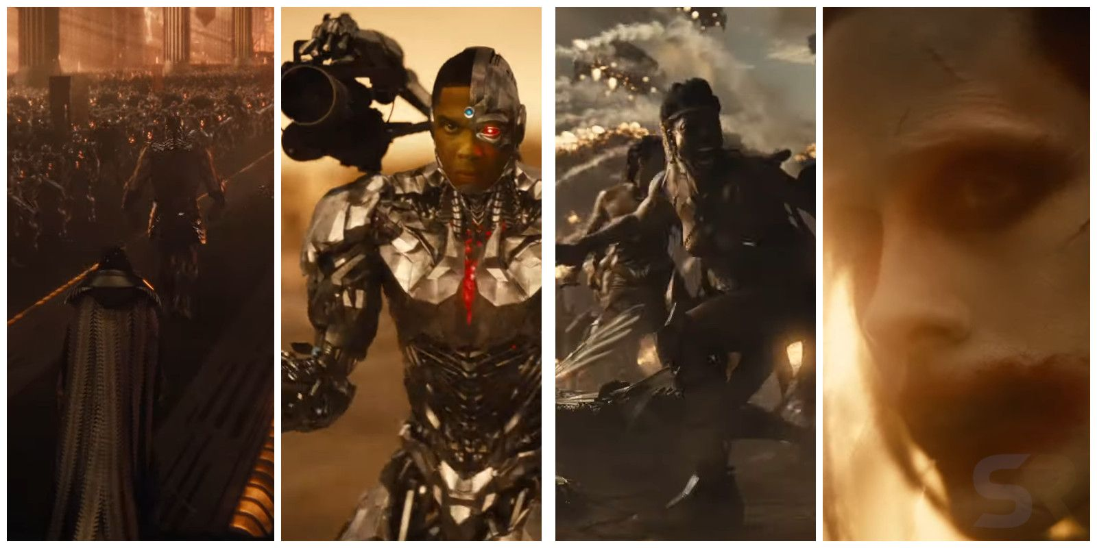 Justice League: Every New Scene Shown In Snyder Cut's ...
