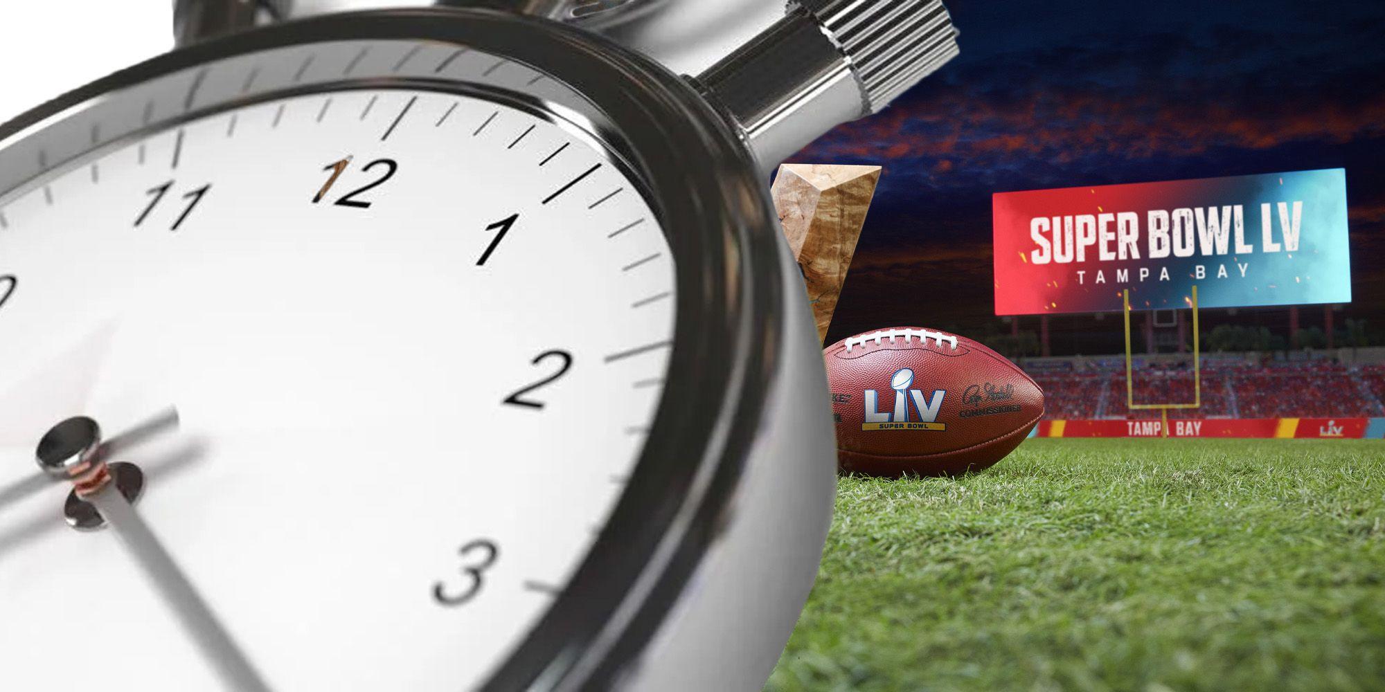 Super Bowl 2021 Beginn