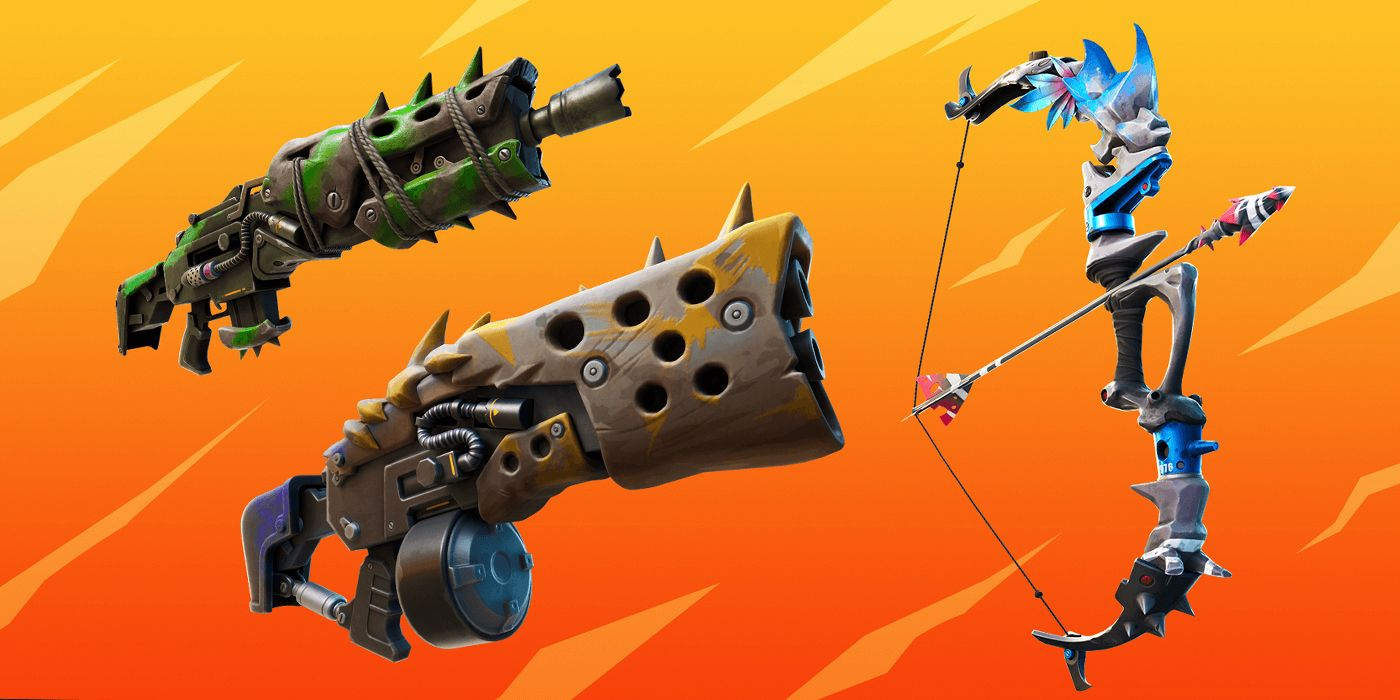 Best Rolls For Fortnite Weapons Fortnite Season 6 How To Upgrade Makeshift Weapons Screen Rant