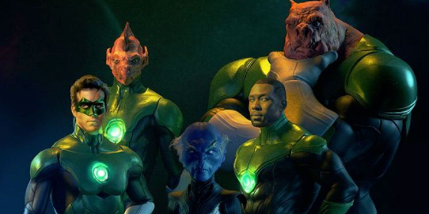Green Lantern Corps Art Imagines Ryan Reynolds' Hero Teaming With John Stewart