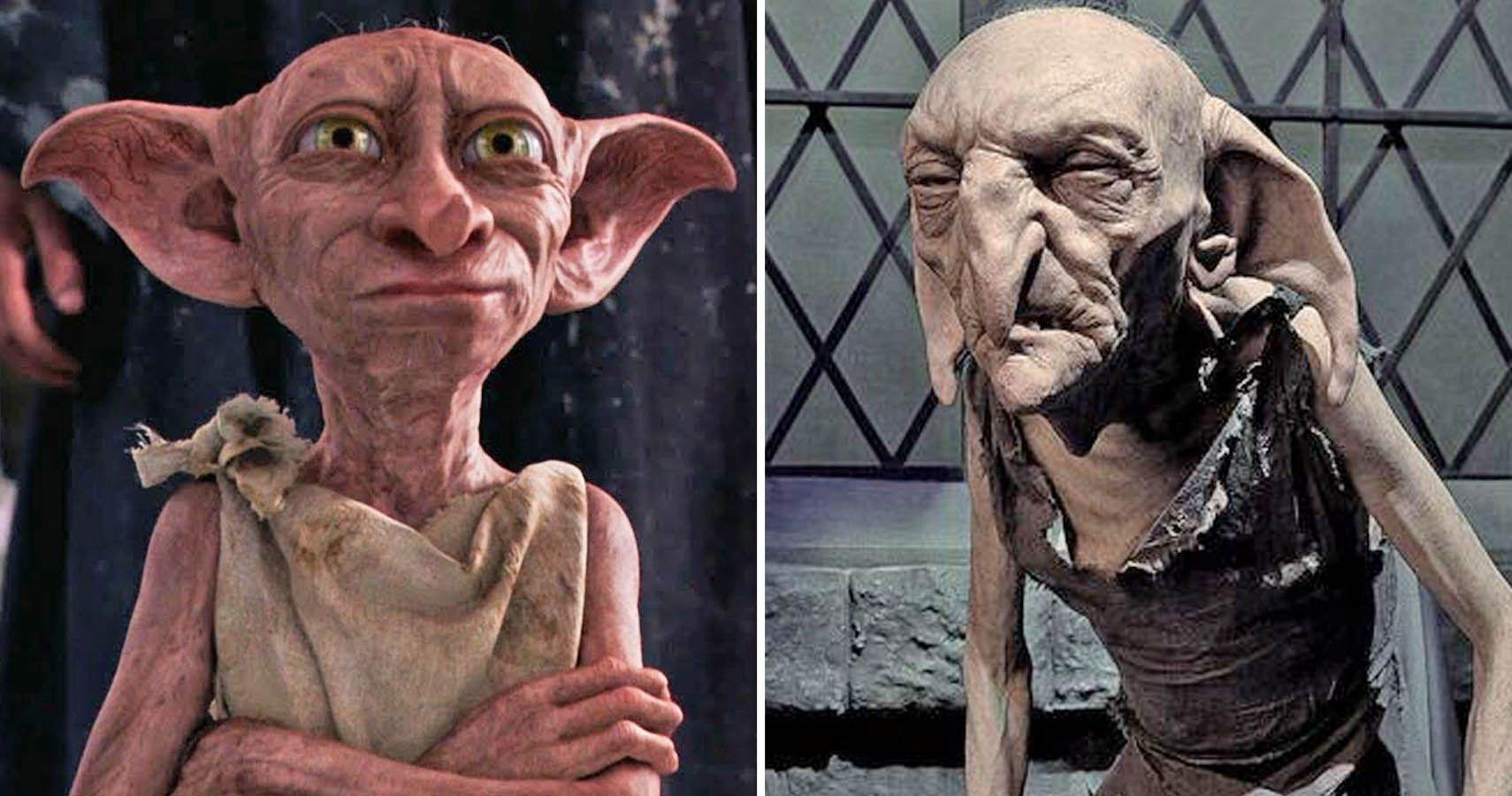 Dobby and Kreacher